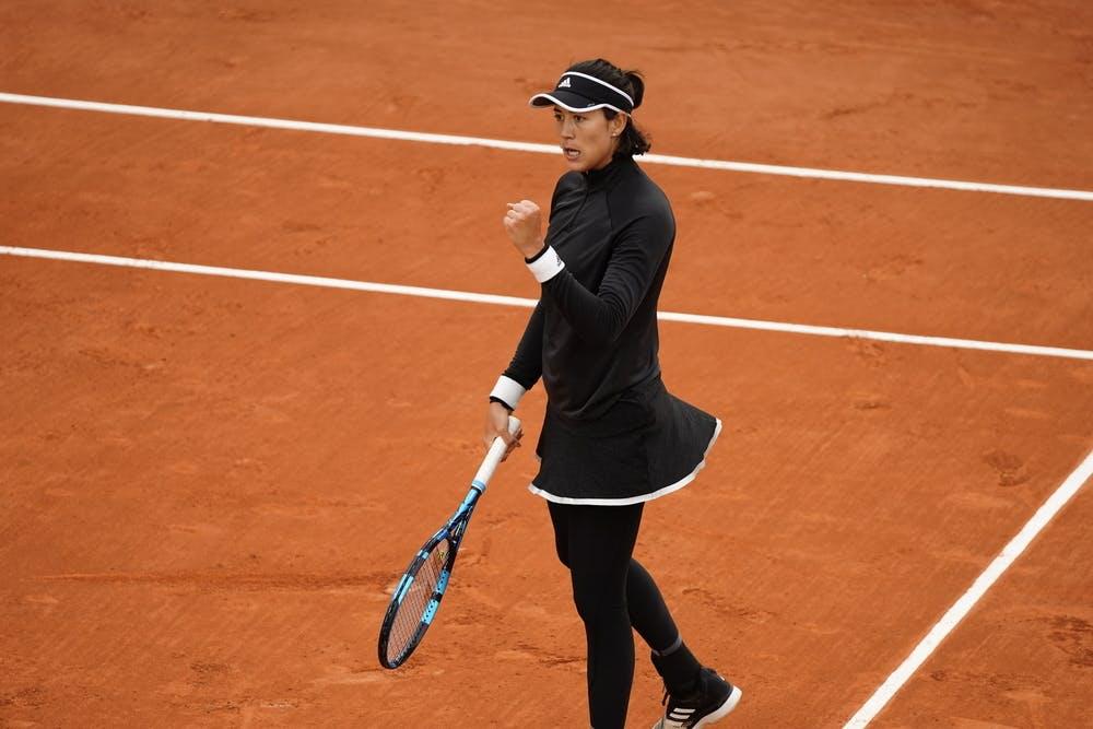 Garbine Muguruza, Roland Garros 2020, first round