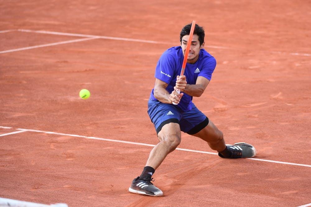 Christian Garin, Roland-Garros 2021