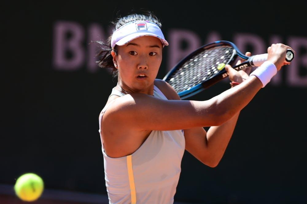 Ann Li, Roland Garros 2021, first round