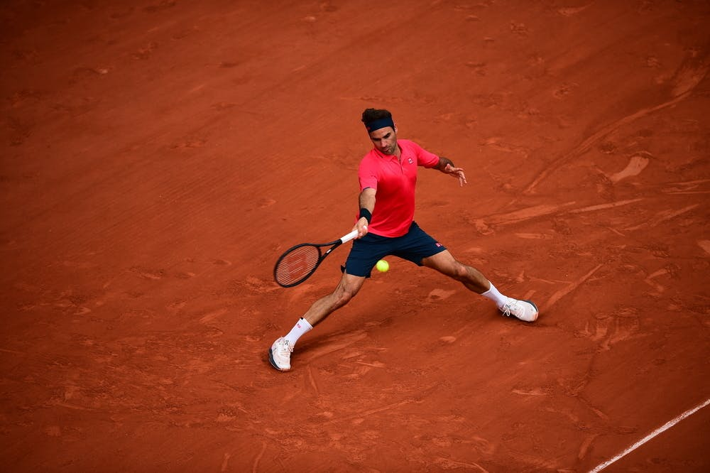 Roger Federer, Roland-Garros 2021 second round