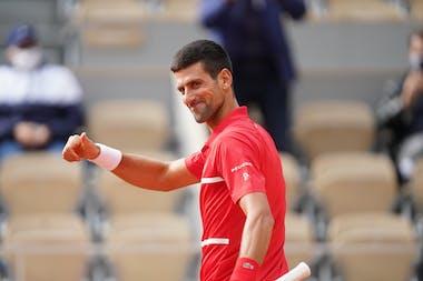 Novak Djokovic, Roland-Garros 2020, 2e tour