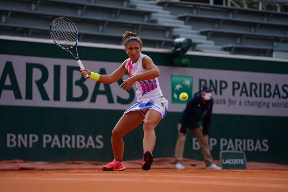 Sara Errani, Roland Garros 2020, qualifying final round