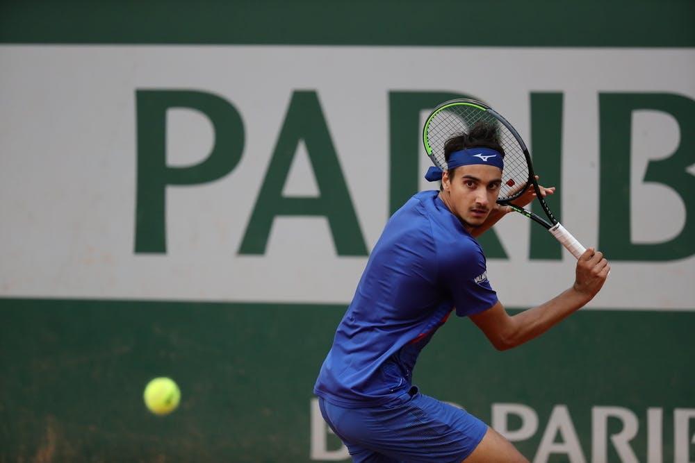 Lorenzo Sonego, Roland-Garros 2020, 2e tour