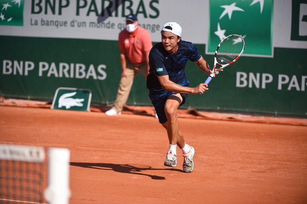 Taro Daniel, Roland Garros 2020, qualifying first round