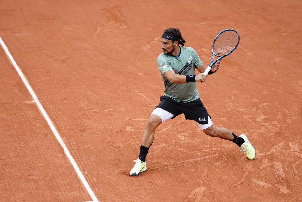 Fabio Fognini, Roland Garros 2020, first round