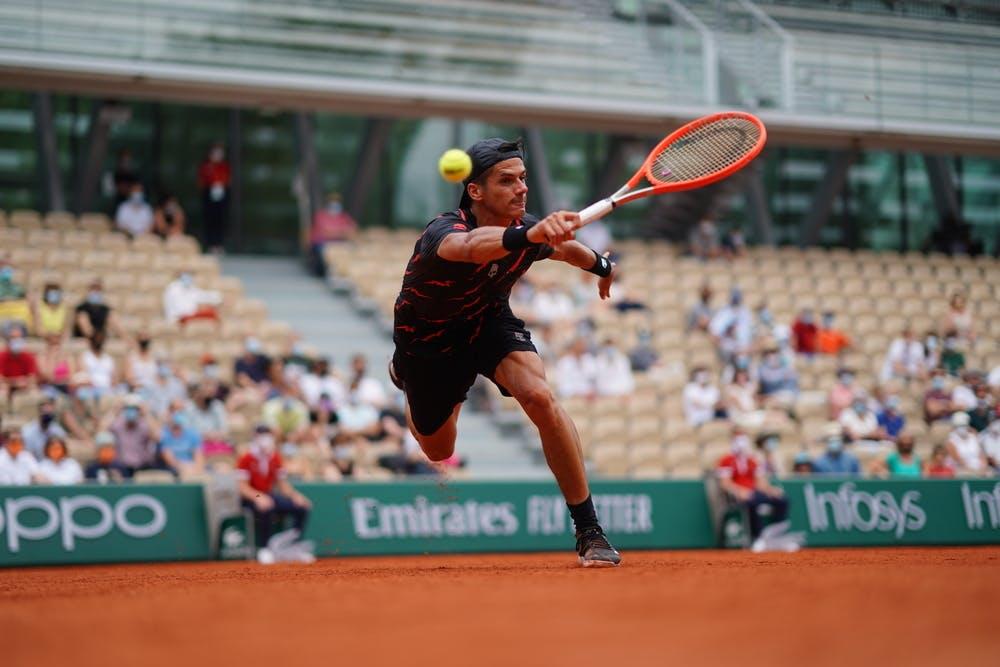 Federico Coria, Roland-Garros 2021, second round