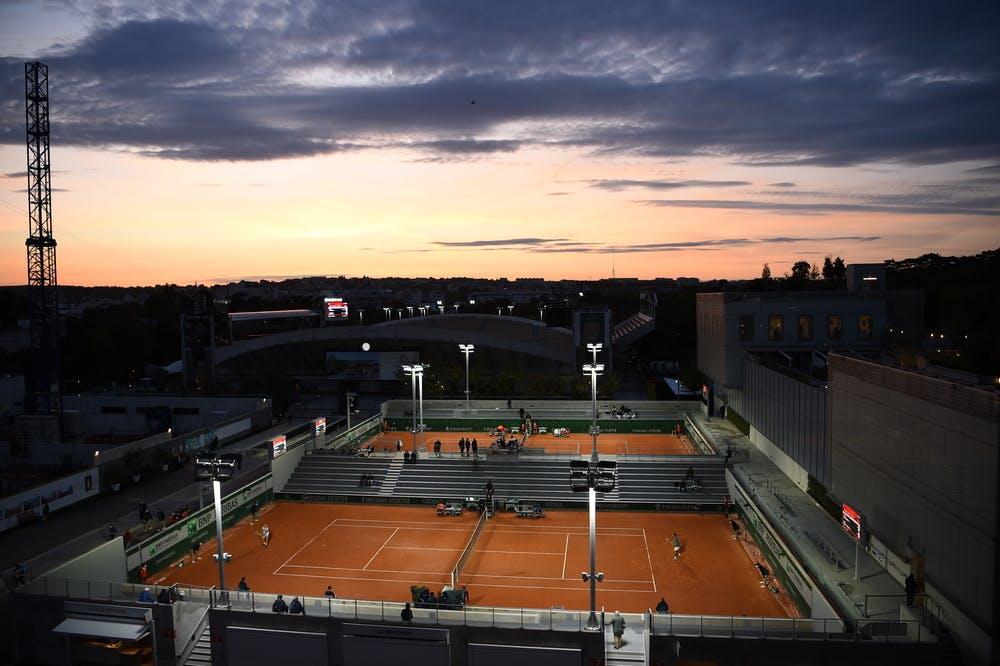 Roland-Garros 2020, nuit