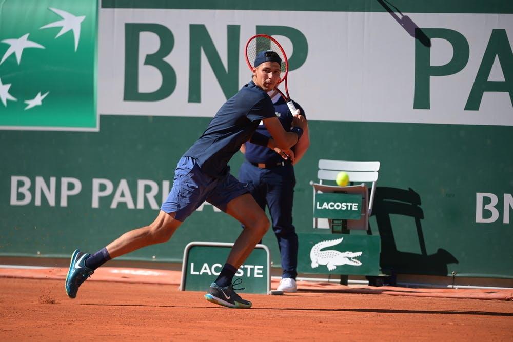 Alexei Popyrin, Roland Garros 2021, first round