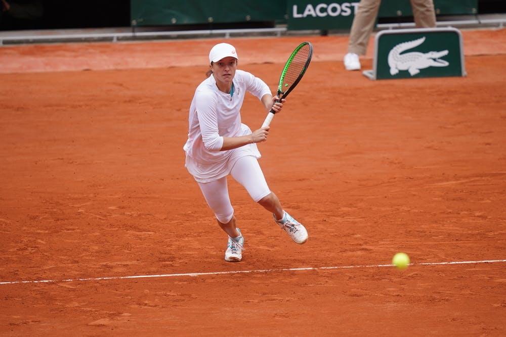 Iga Swiatek , Roland Garros 2020 final