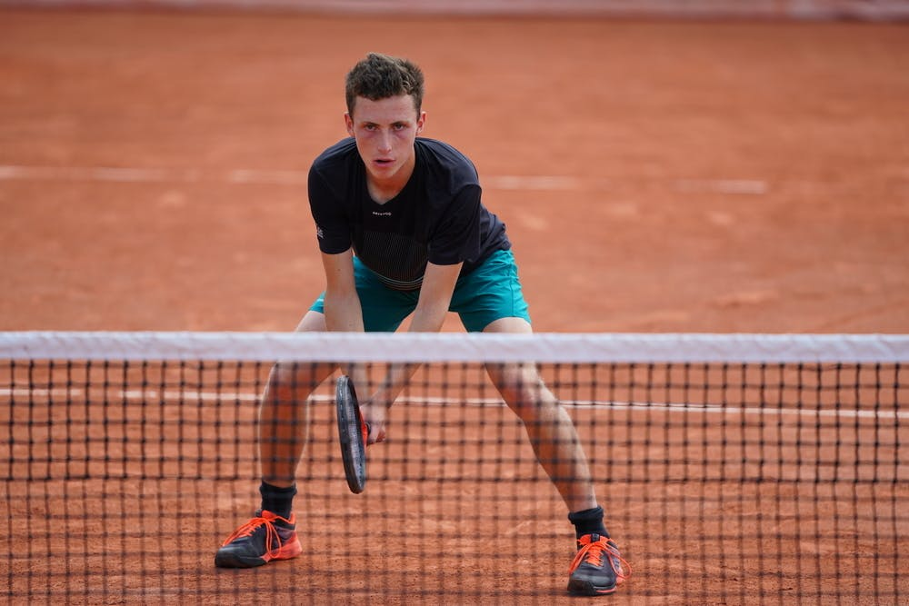 Robin Bertrand, Roland-Garros 2021, boys doubles first round