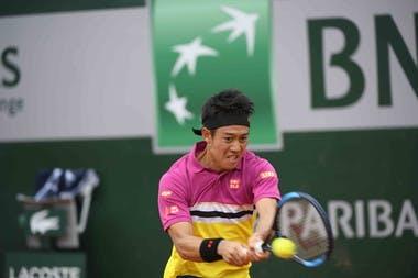 Kei Nishikori - Roland-Garros 2019 1er tour