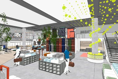 Concept store, roland-garros, griffe, 2021