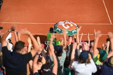 Spectateurs Roland-Garros