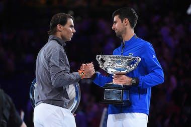 Nadal Djokovic Australian Open 2019