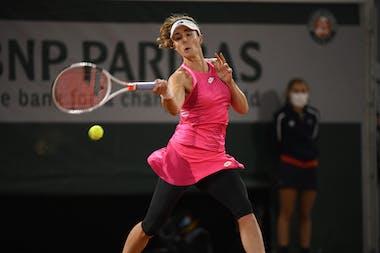 Alizé Cornet, Roland-Garros 2020, 1er tour