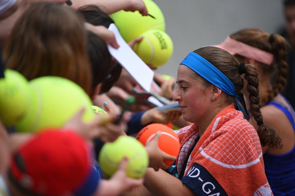 Roland-Garros 2019 - Les Enfants de Roland-Garros - Jelena Ostapenko