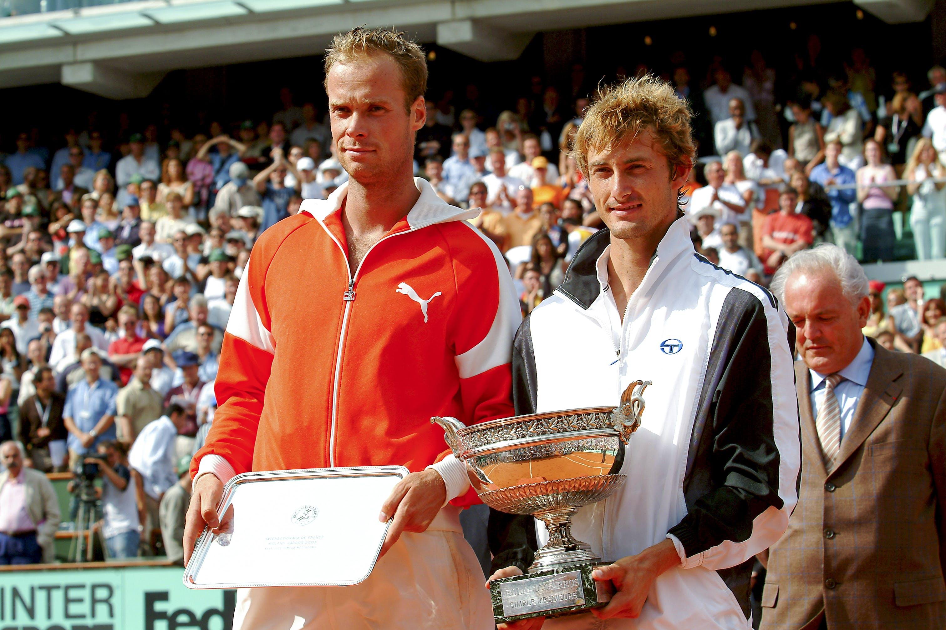 Juan Carlos Ferrero Martin Verkerk Roland-Garros 2003