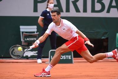 Novak Djokovic, Roland Garros 2021, fourth round