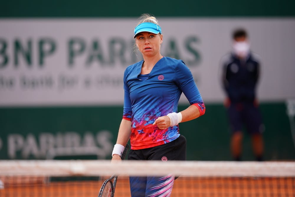 Vera Zvonareva, Roland Garros 2020 women's qualifying