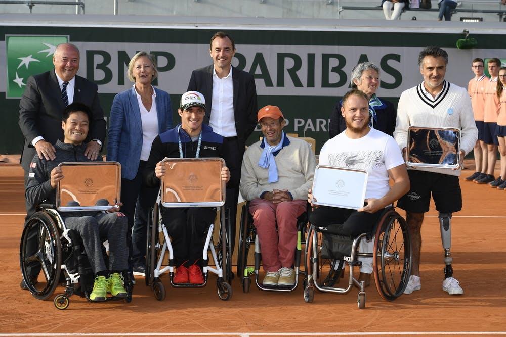 Kunieda/Fernandez ont battu Houdet/Peifer double tennis fauteuil Roland-Garros 2019