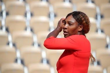 Serena Williams practice 2019