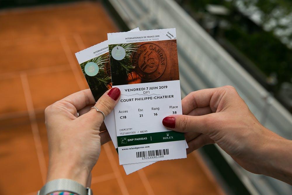 Tickets Roland-Garros 2019