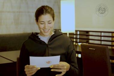 La leçon de français de Garbiñe Muguruza, rendez-vous à Roland-Garros !
