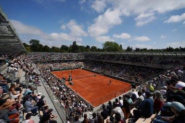 Roland-Garros 2019 - Court Simonne-Mathieu - inauguration