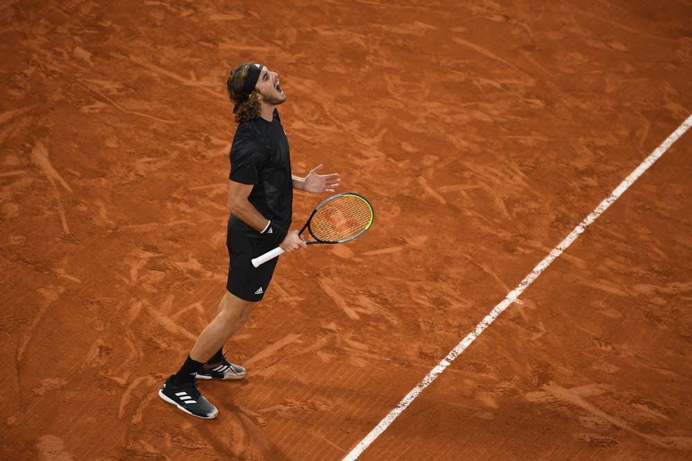 Stefanos Tsitsipas, Roland Garros 2020, semi-final