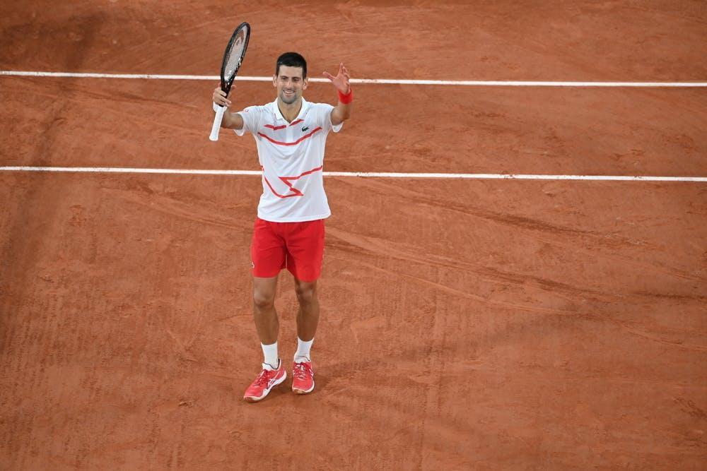 Novak Djokovic, Roland Garros 2020, first round