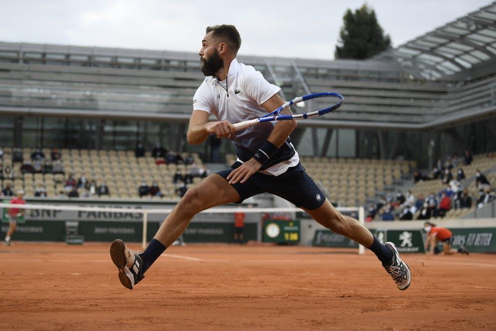 Benoît Paire, Roland-Garros 2020, 2e tour