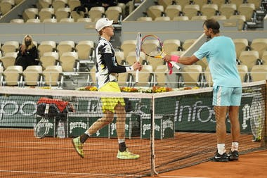 Rafael Nadal, Jannik Sinner, Roland Garros 2020, quarter-finals