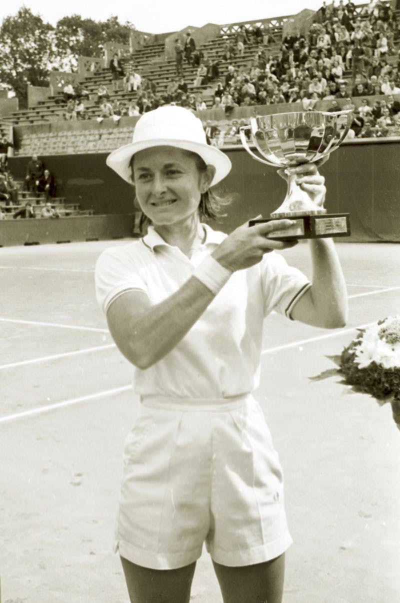 Nancy Richey Roland-Garros 1968.