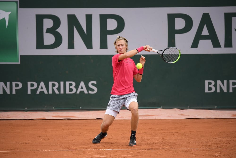 Sebastian Korda, Roland Garros 2020, qualifying second round