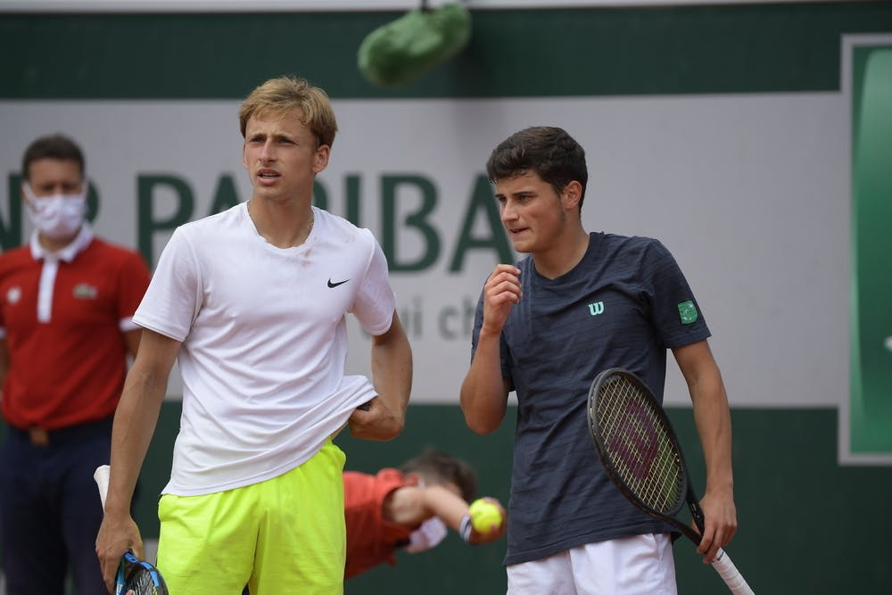 German Samofalov, Martin Katz, Roland-Garros 2021, boys' singles final