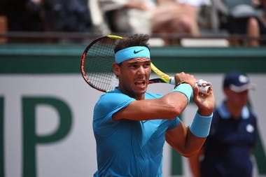 Rafael Nadal, Roland Garros 2018, Simple Messieurs, 1/8 de Finale