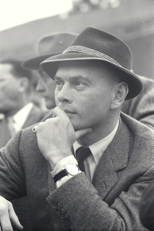 Yul Brynner, Roland-Garros 1959.