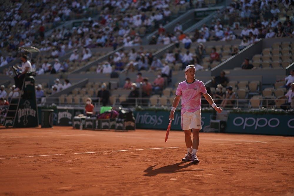 Diego Schwartzman, Roland Garros 2021, quarter-final