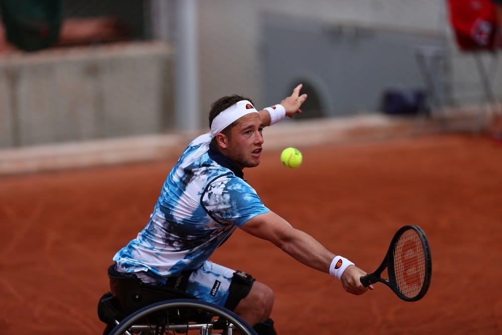 Alfie Hewett, Roland Garros 2021, men's wheelchair semi-final