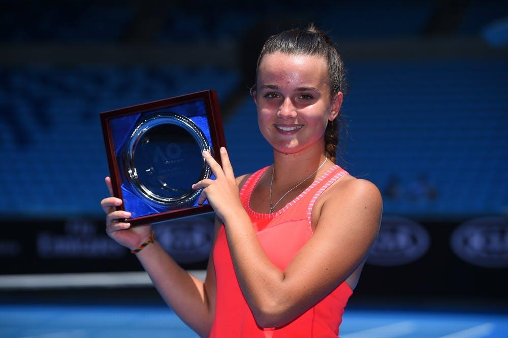 Clara Burel, Australie 2018