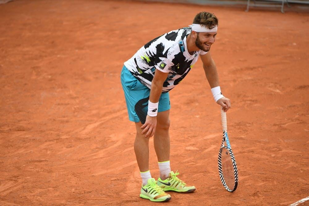 Corentin Moutet, Roland Garros 2020, first round