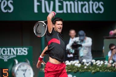 Roland-Garros 2018, 8e de finales, Novak Djokovic
