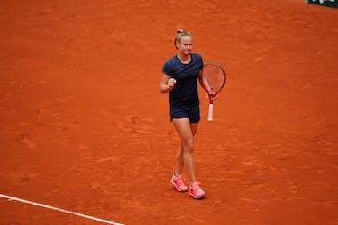 Fiona Ferro, Roland Garros 2020, third round