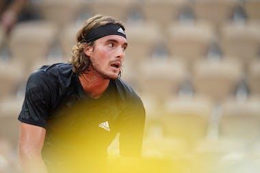 Stefano Tsitsipas, Roland-Garros 2020, 1er tour