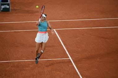 Caroline Garcia, Roland-Garros 2020, 3e tour