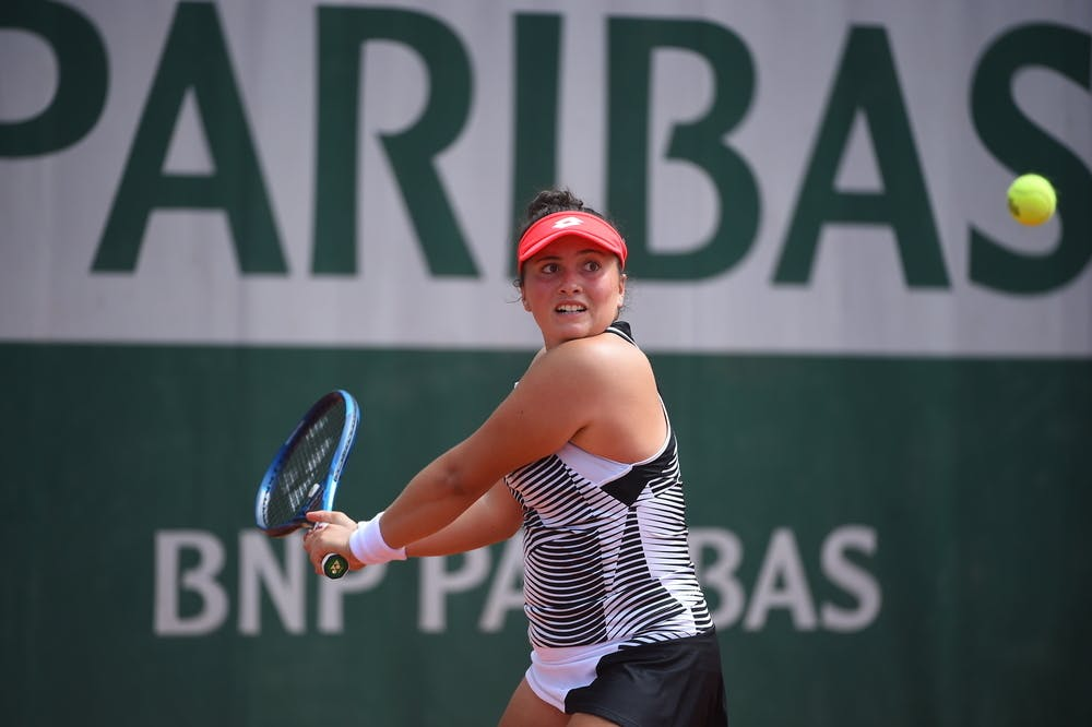 Julia Garcia, Roland-Garros 2021, girls singles first round
