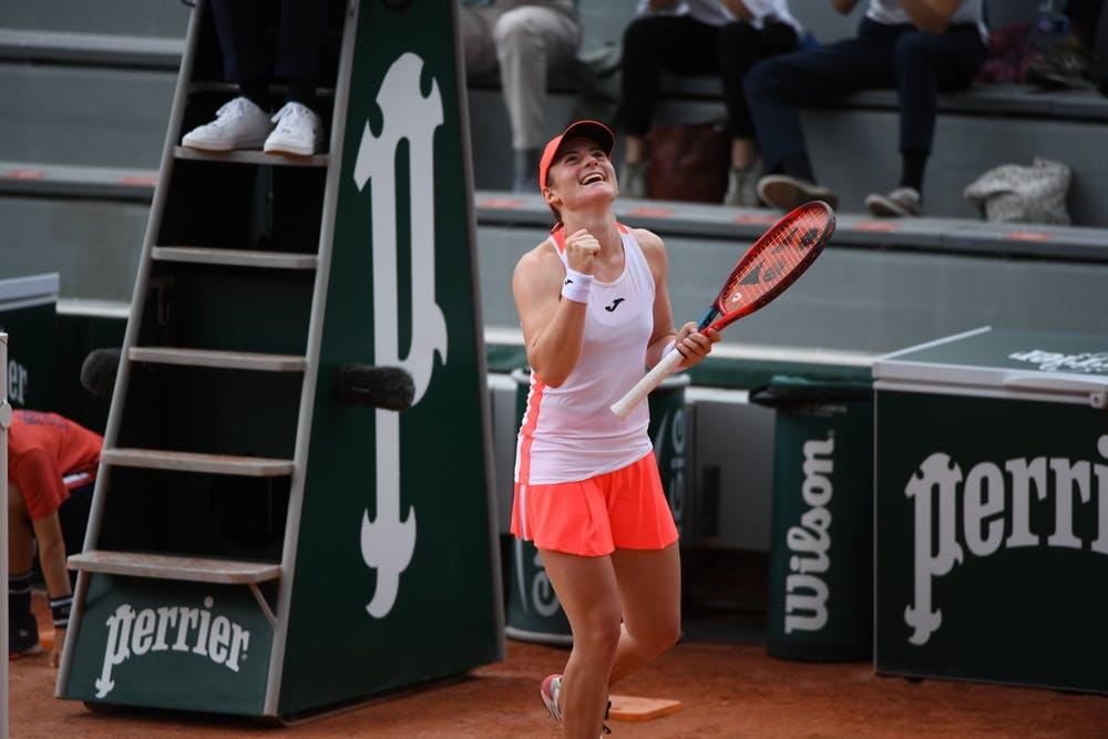 Tamara Zidansek, Roland-Garros 2021, third round