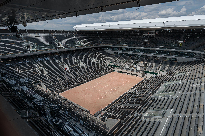 Court Philippe Chatrier - Roland-Garros 2020