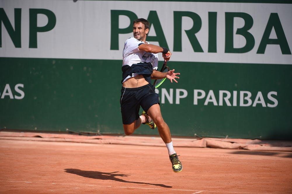 Tommy Robredo, Roland Garros 2020, qualifying first round.