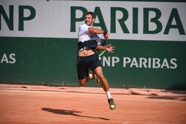 Tommy Robredo, Roland Garros 2020, qualifying first round.